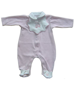 0-24m Romper Onsie personalizadas roupas bebê roupas infantis com Colar de Peter Pan