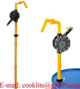Handkurbelpumpe RP-90rt Fasspumpe Chemikalien-Handpumpe Fuer Fluessigkeiten aggressivo, Pflanzenschutzmittel, Detergenzien, Oele Usw/pompa
