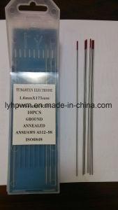 タングステンの電極、トリウムのタングステンの電極、イットリウムのタングステンの電極