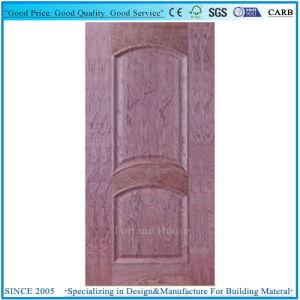 Faible prix relevée/HDF convexe moulé 1 panneau de porte de la peau