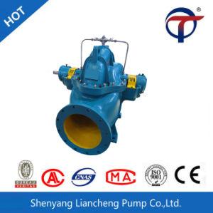 La stazione di pompa del rifornimento idrico di irrigazione della centrale elettrica ha utilizzato la pompa di rivestimento lungo un asse spaccata