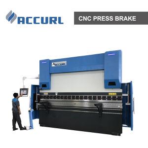 Accurl Marke MB8-300/60 CNC-hydraulische Presse-Bremsen-verbiegende Maschine CER Selbstsicherheit