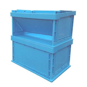 Caisse plastique pliable de roulement en plastique de pliage boîte Boîte de rangement de logistique