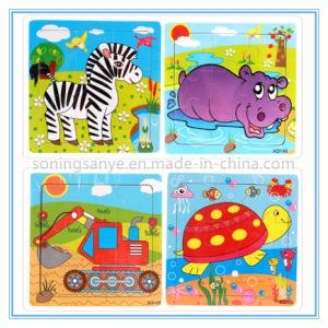 Puzzle di legno del puzzle dei giochi del giocattolo di puzzle di DTY0142 3D