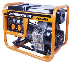 Горячая продажа Электрический пуск однофазного переменного тока, портативный, четырехтактный дизельный генератор с открытым стилем