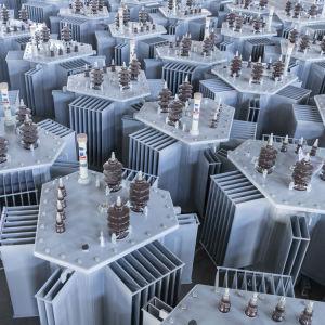 China 33/0.4kv 3 Fase Oil-Immersed 3D Core Trafo - Transformador de energia da China