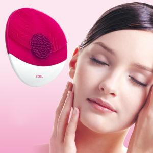 Vierge Escova Facial eléctricos ultra-sônica patenteada de cuidados da pele da face de silicone à prova de ferramentas de limpeza da pele da escova de limpeza