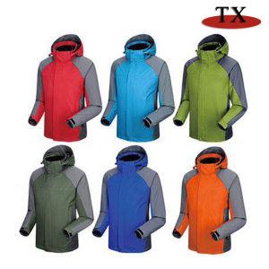 Les hommes vêtements de mode loisirs étanche extérieur enduire Veste d'hiver