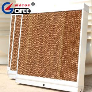 Alta eficiência de evaporação almofada de resfriamento de papel em aves de capoeira House Suína House Emissões