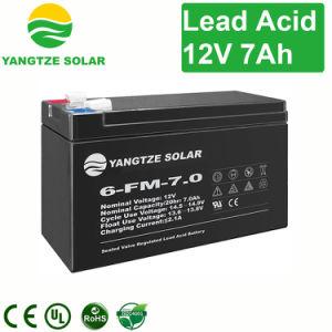 12V 7ah 20Hr малых SMF VRLA свинцово-кислотные AGM аккумулятор для ИБП/аварийного/телекоммуникационные системы