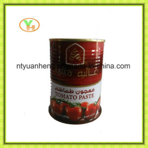 70g-5kg de ingeblikte Tomatenpuree van Gino