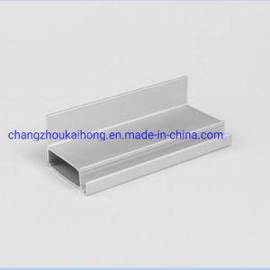 Um6063T5/Alumínio de extrusão de alumínio perfil para a energia solar a estrutura do módulo