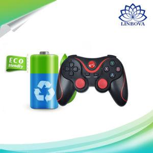 Controlador de jogo Bluetooth Mobile sem fio 2.4G para PS3 / Android / PC / TV Box / iPad