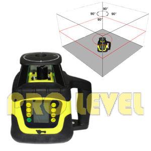 Grado de doble nivel láser rotativo agrimensura instrumento (SRE-207)