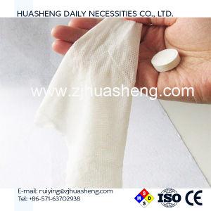 Magic e estilo de Tecidos não tecidos, 50GSM Non-Woven tecido comprimido