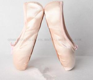 Venta caliente OEM de disco duro de seda única danza Ballet Pointe zapatos