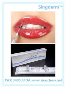 Ácido hialurônico Singderm depósito dérmico de aumento de lábios