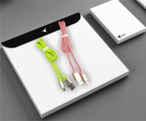 Мягкий резиновый материал Micro зарядное устройство USB телефонный кабель передачи данных