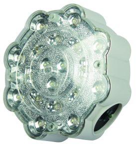 Indicatore luminoso Emergency di campeggio ricaricabile della torcia elettrica LED del punto che illumina l'indicatore luminoso di lampadina esterno (HK-4825)