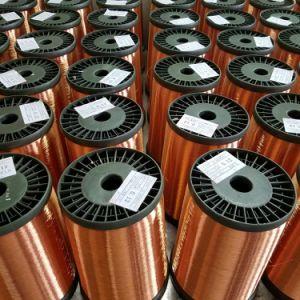 Prix de vente d'usine ECCA, Fil de cuivre émaillé plaqués en aluminium pour les générateurs de moteur