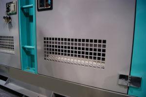 병원을%s Denyo 1800rpm 침묵하는 대기 디젤 엔진 전기 발전기