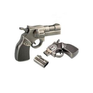 Рекламные новый продукт пистолет USB флэш-диск полностью металлический флэш-накопитель USB пистолет диск USB