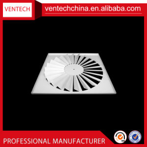 Sistemas HAVC Lâminas Ajustável de metal de ventilação difusor de turbulência