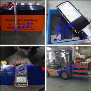 20W-120W Luz Solar com lâmpadas LED duplo
