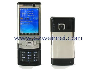 Dual SIM/Standby with Cool Silding Design Mobile Phone (F818)