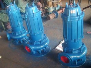 Eaux usées de la pompe submersible Wq série