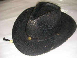 Sombrero de vaquero (HAT13BK7).