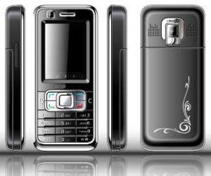 Um telefone celular Bluetooth (T999)
