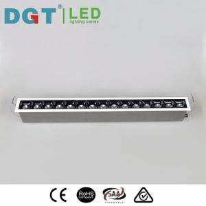 Aluminio interior empotrable de chip de LED de Osram 15*2W lineal Spotlight IP40
