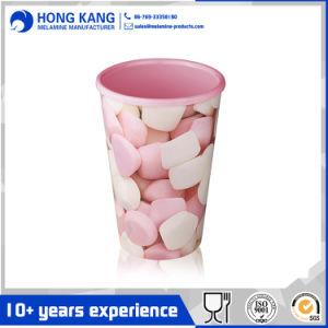 Trinkwasser-Arbeitsweg-Melamin-Cup des Drucken-10oz