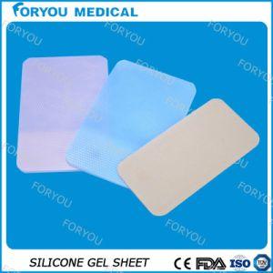 En silicone adhésif pour la peau Soin des plaies feuille de gel de silicone