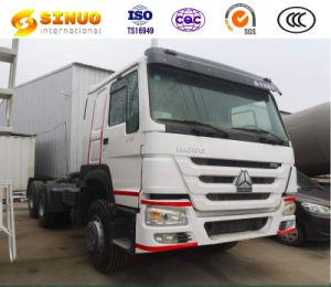 Usa HOWO Tractor Truck 371CV Heavy Duty Remolque Jefe 10 ruedas 6X4 camión tractor de segunda mano 10 neumáticos excelente estado Venta caliente para África