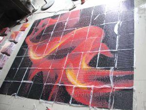ガラスモザイク壁のタイルのモザイク模様のタイル(716)