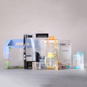 Cadre se pliant de empaquetage de plastique de cadeau de mode d'OEM (cadre de PVC)