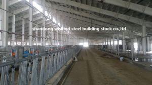 Einfache Installation/zusammengebauter/Werkstatt-/Lager-/des Büro-H Träger-Stahlrahmen