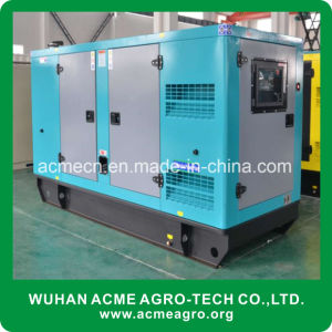80kw silencieux 100kVA Groupe électrogène diesel refroidi par eau