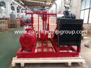 Nfpa 20 утвержденных дизельного двигателя со стороны всасывания пакет пожарного насоса