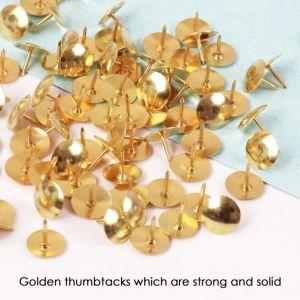 좋은 품질 황금 Thumbtacks