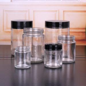 vasi di vetro di 16oz 8oz 4oz con le protezioni