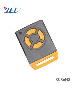 Универсальный Hotsale 433МГЦ из красного дерева беспроводной связи 4 канала копировать код пульта дистанционного управления лицом к лицу клонирования концевой выключатель двери гаража