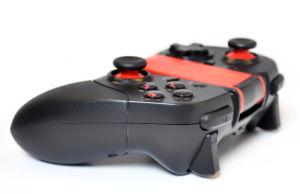 [سيتك] [بلوتووث] لعبة جهاز تحكّم مع مشبك ذراع قيادة نوع مع من لأنّ [أندرويد] لعب متحرّك [ستك-7004إكس]