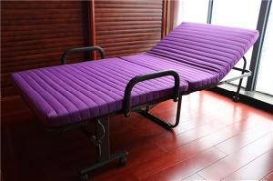 يطوي سرير إطار مع زبد فراش و6 لون