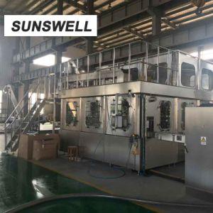 Sunswell는 주스 불 채우 캡핑 충전물 기계를 병에 넣었다