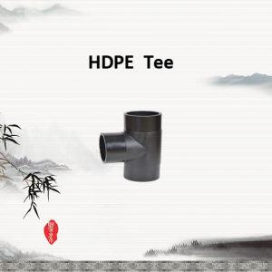 T uguale HDPE80/HDPE100 per il rifornimento idrico industriale