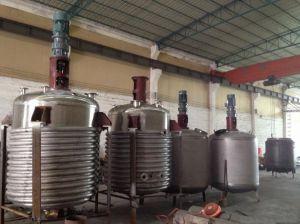 Chauffage à vapeur du réacteur en acier inoxydable avec bobine de l'extérieur