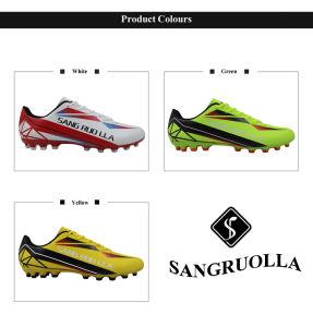 Comercio al por mayor de fútbol al aire libre Mens zapatos de tacos de fútbol de césped